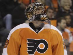 Philadelphia Flyers goalie Ilya Bryzgalov should be ready to return this weekend if he can handle the pain.