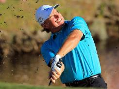Ernie Els of South Africa, playing a shot from the bank of a lake last week at the Arnold Palmer Invitational, needs to win this week to earn a spot in the Masters.