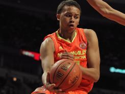 UCLA signee Kyle Anderson had 13 points, eight rebounds, eight assists and four steals in the McDonald's All American Game.