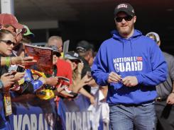Dale Earnhardt Jr. has an average finish of 13.0 at Martinsville Speedway, his third-best track on the Sprint Cup Series circuit.