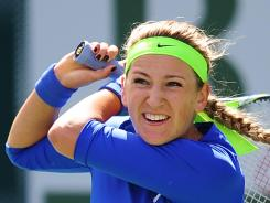 Victoria Azarenka is the No. 1 player in the world, and she ends up No. 1 on many observers' lists as loudest player.