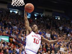 Jayhawks guard Tyshawn Taylor could lead Kansas to a national title.