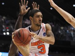 Louisville's Peyton Siva is pictured here during the Cards' Elite Eight game vs. Florida.