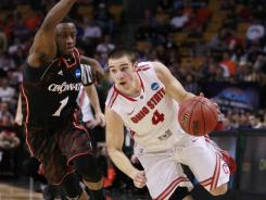 Buckeyes guard Aaron Craft is known for his relentless defense.