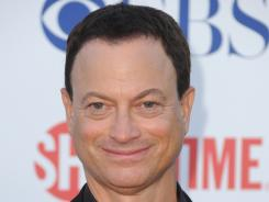 Gary Sinise had been scheduled to be the grand marshal for Sunday's Sprint Cup race at Martinsville Speedway.