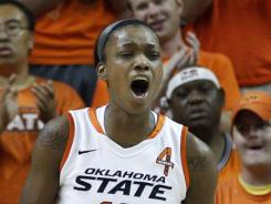 Toni Young had 25 points to lead Oklahoma State to its first WNIT title. She hadn't started in consecutive games this season until the tournament.