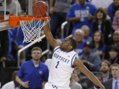 On young Kentucky team, senior Miller steps up