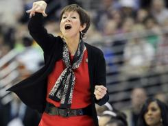 Notre Dame head coach Muffet McGraw has the Irish in the national title game for the second consecutive year.