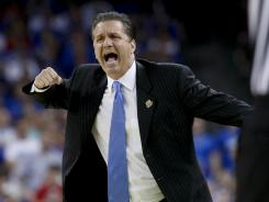 Will John Calipari win his first national championship Monday night?
