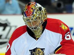 Goalie Jose Theodore was one of Panthers general manager Dale Tallon numerous offseason acquisitions.