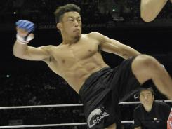 Tatsuya Kawajiri has been fighting professionally for 12 years.