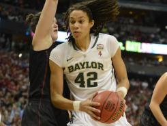 Baylor center Brittney Griner is one victory away from winning her first national championship.