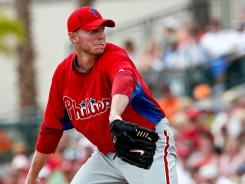 Roy Halladay wasn't his dominant self in spring training.