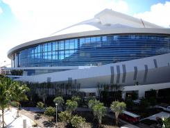 "Marlins Park, which sits on the site of the old Orange Bowl in the Little Havana neighborhood, was built with Miami in mind. ""We used Miami as an excuse to do things that other cities couldn't get away with,"" team President David Samson said."