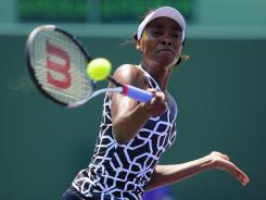 Venus Williams of the USA still hopes to make the Olympic team for London.