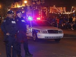 Gunfire wounds man during celebration of Kentucky NCAA win