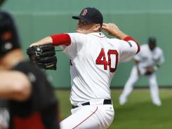 Boston closer Andrew Bailey appeared in six games for the Red Sox this spring.