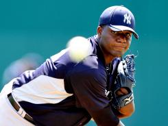 Yankees newcomer Michael Pineda was acquired in a trade with the Mariners.