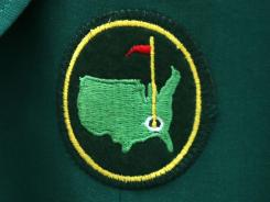 Women still can't wear the green jacket with this logo from Augusta National because they aren't allowed to be members.