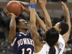 Howard's women's basketball team recently finished its season with a record of 24-9.