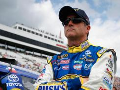 JTG Daugherty Racing driver Bobby Labonte will be footing it at college campuses this week as his son, Tyler, looks at schools. NASCAR is enjoying one of two off weekends in a hectic 36-race season.