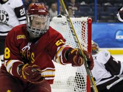 NCAA HOCKEY: Ferris State beats Union in Frozen Four