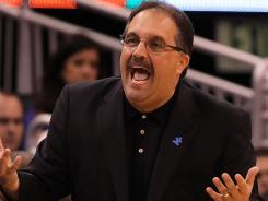 Orlando center Dwight Howard has asked management twice that Stan Van Gundy, pictured, be fired, according a source close to the situation.
