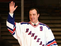 Stefan Matteau's dad, Stephane, played 13 seasons in the NHL and won a Stanley Cup with the Rangers.