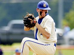 Vanderbilt baseball signee Stephen Gant pitches during the 2010 TSSAA Class A State Championship Baseball Game. Gunt was found dead along a roadside with an apparent self-inflicted gunshot wound
