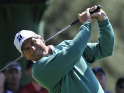 Fred Couples surprised everybody Friday with his 5-under 67 that gave him a share of the lead.