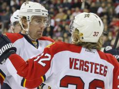 Tomas Fleischmann and Kris Versteeg are two of the players whom GM Dale Tallon brought in last summer.