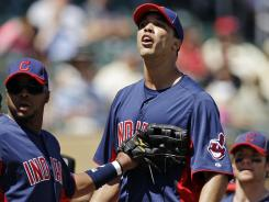 Indians pitcher Ubaldo Jimenez has dropped his appeal of a five-game suspension he was given after hitting the Rockies' Troy Tulowitzki with a pitch during a spring training game.