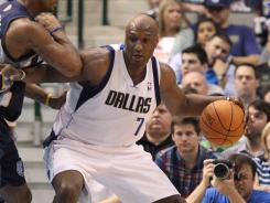 Dallas forward Lamar Odom played a season-low four minutes and failed to score in the Mavericks' loss to the Grizzlies on Saturday.