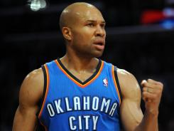 Derek Fisher might not be scoring a lot for the Thunder, but the team still knows he can bring a lot to the table down the stretch.