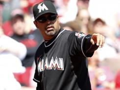 Miami manager Ozzie Guillen already is making waves with comments he made to Time about Fidel Castro.