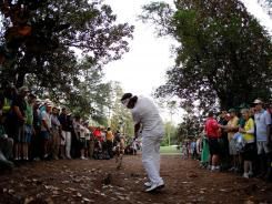 Bubba Watson's shot on No. 10, the second and last playoff hole Sunday at Augusta, made for dramatic TV for CBS — and gave Watson his first major tournament win.