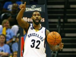 O.J. Mayo averages 12.5 points a game off the bench, one of six Grizzlies to average in double figures.