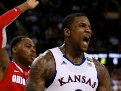 Thomas Robinson has declared for the NBA draft after leading Kansas to the national championship game.