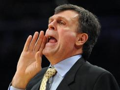 Houston coach Kevin McHale has led the Rockets to a 31-25 record in his first season coaching the team.