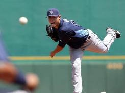 Tampa Bay Rays starting pitcher Matt Moore has drawn lots of interest in fantasy leagues and as a Rookie of the Year contender in the American League.