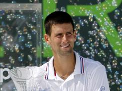 Novak Djokovic of Serbia will face Rafael Nadal in an exhibtion at Real Madrid's stadium on July 14.