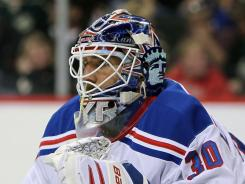 Henrik Lundqvist has been the NHL's top goalie this season and goaltending wins in the playoffs.