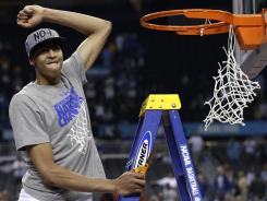 It's no surprise that Kentucky freshman forward-center Anthony Davis is expected to be the first pick in the upcoming NBA draft  although he has yet to declare he is leaving school.