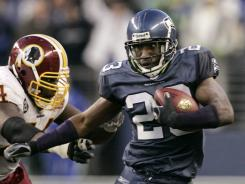 CB Marcus Trufant is the lone holdover from the Seahawks' Super Bowl XL squad.