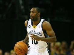 Gilbert Arenas is happy playing with the Memphis Grizzlies and staying out of the spotlight, after his troubled NBA past.