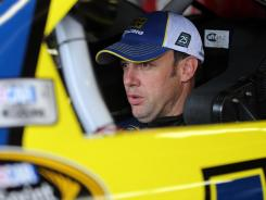 Matt Kenseth, shown at Thursday's practice at Texas, won at the Fort Worth track last spring to snap a 76-race victory drought.
