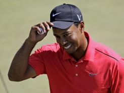 Tiger Woods returns to the Tour in three weeks at the Wells Fargo Championship in Charlotte.