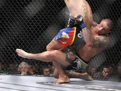 Thiago Silva last fought Jan. 1, 2011 in Las Vegas.