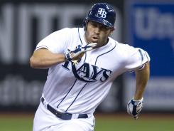 Johnny Damon, who played for the Tampa Bay Rays last year, is 277 hits shy of 3,000 for his career.