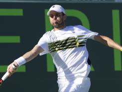 Mardy Fish, the number one seed in the US Men's Clay Championships, was eliminated by challenger Michael Russell on Thursday. Fish was forced to drop out of Davis Cup play just weeks ago after suffering health issues.